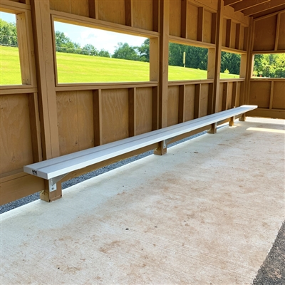 Semi-Permanent Team Benches