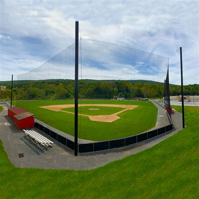 Baseball Backstop Netting - Cable Design