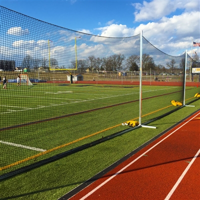 10' BallStopper Sports Netting - Portable Bases